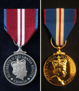 Queen Elizabeth II Diamond & Golden Jubilee Medals